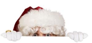santa_peeking